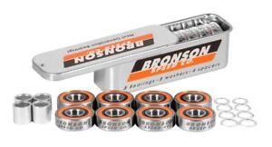 BRONSON SPEED CO G3 Next Generation Skateboard BEARINGS Spacers & Speed HWashers