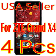 4x Screen Protector Lcd Guard Saver Film for Zte Grand X4 (2016)