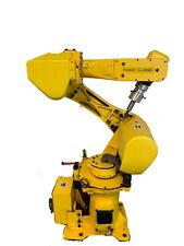 Fanuc Yellow Robot M 6irobot Controller Teach Pendent And Cables Included