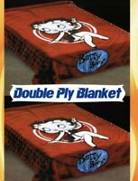 Betty Boop Double Ply Reversible Blanket