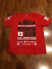 Manny Pacquiao vs Jeff Horn Battle of Brisbane Boxing t-shirt Size L Brand New
