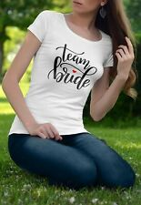 Maglietta Team Bride - Addio al nubilato - Tshirt simpatica per feste