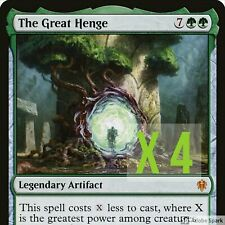 The Great Henge x 4  MTGFOREST