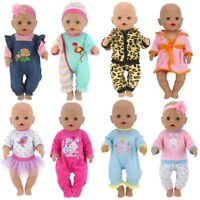 For Baby Born Doll Accessory For 18 inch Outfit Set Clothes Girl Gifts New Hot