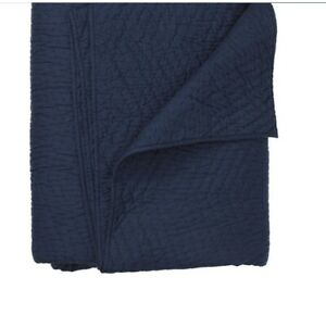 Company Cotton Voile Quilt - Navy King: 104 in. x 92 in.
