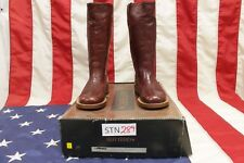 Stivali boots N.36 buttero (Cod.STN289) cowboy western bikers donna nuovo