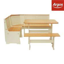Argos Home Haversham Solid Pine Corner Dining Set with Bench