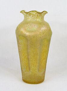 Loetz Art Nouveau Large Candia Papillon Glass Vase