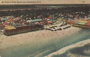 Folly Beach, SOUTH CAROLINA - 1949 - Folly Island near Charleston