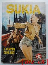 SUKIA 58 il vampiro di Milano EDIFUMETTO 1979 fumetto erotico