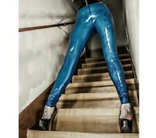 LATEX RUBBER Leggings UNISEX  TV  SISSY  PANTS  XS S M L XL XXL