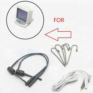 Dental Apex Locator Root Canal Finder Test Probe Cord Files holder hooks for J2