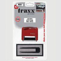 DIY rubber stamp Kit Self Inking Business Address Garage Name You Personalise