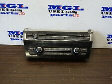 BMW 7 SERIES F01F02 730D A/C HEATER CLIMATE CONTROL SWITCH PANEL 9241227  2010