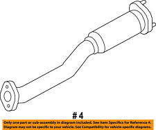 FORD OEM 13-18 Explorer 3.5L-V6 Exhaust System-Exhaust Pipe DB5Z5G203B