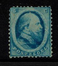 Netherlands SC# 4, Mint No Gum, Top Tear, few short perfs, see note - Lot 052117