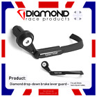 DIAMOND RACE PRODUCTS - BRAKE LEVER PROTECTOR GUARD FOR ALL 22mm CLIP-ON BARS