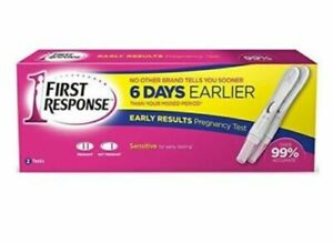 First Response - 6 Days Early Result Pregnancy Test - Pack of 2  - Fast Delivery