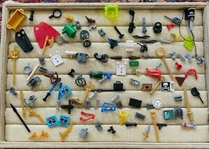 LEGO MINIFIGURE CAPE WEAPON BIRD FROG ACCESSORY LOT RANDOM MIX FAIRY WAND +