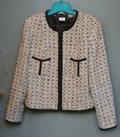 Collection Harve Benard Women's Black & White Blazer Size 12
