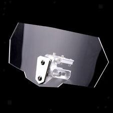 Deflettore Parabrezza Regolabile Con Flusso D'aria Universale Per Moto