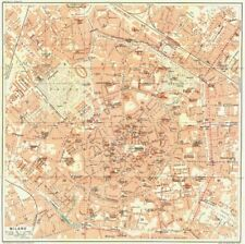 Milan Italy Antique Europe City Maps for sale   eBay on city of beijing china map, city of basel switzerland map, city of doha qatar map, city of bangkok thailand map, city of cali colombia map, city of monterrey mexico map, city of buenos aires argentina map, city of caracas venezuela map, city of belgrade serbia map, city of manila philippines map, city of havana cuba map, city of marseille france map, city of geneva switzerland map, city of valencia spain map, city of calgary canada map, city of madrid spain map, city of reykjavik iceland map, city of germany map, city of tegucigalpa honduras map, city of zurich switzerland map,