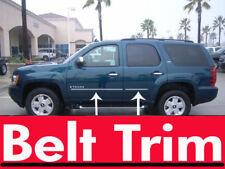 Chevy TAHOE CHROME SIDE BELT TRIM DOOR MOLDING 07 08 2009 2010 2011 2012 2013
