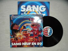 "LP WAMPAS, MANO NEGRA, OUI OUI, ENDIMANCHES ""Sang neuf en 89"" EX §"
