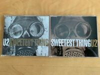 U2 ~ SWEETEST THING - 2 IMPORT CD LOT - USED