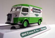 1947 Citroen Type H Van Custom Graphics Diecast Citroen Heineken Delivery Van