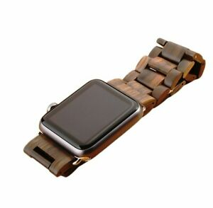 Wooden Band For Apple Watch - For 38mm Includes Watch Link Removal Tool