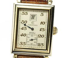Chronoswiss K18 HORA antique Ivory Dial Hand Winding Men's Watch_558723