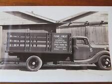 VTG Film Negative & Print Frank J Knight Contractor Truck Detroit 1938 #8996A
