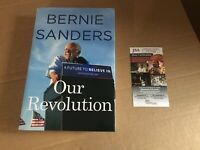 Bernie Sanders SIGNED Our Revolution Autographed Book President! 2020 JSA