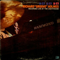 "Richard ""Groove"" Holmes - X-77 (Vinyl LP - 1969 - US - Original)"