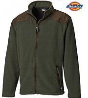 Dickies Fleece Jacket Zip Jumper Hereford  Work Farm Fishing Pockets Warm S-4XL