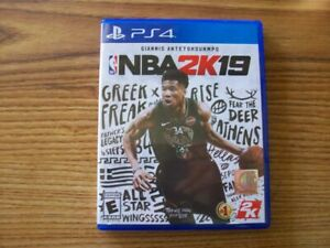 NBA 2K19 PS4 VERY GOOD - FREE US SHIPPING