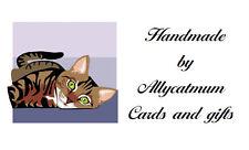 130 Personalised Labels Cat  / Address / Hobbies design Cat Design 9