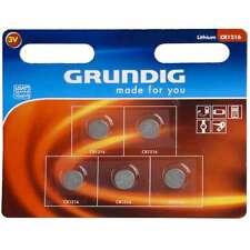 Pile a bottone Set 5 pezzi Batterie a litio CR1216 Grundig