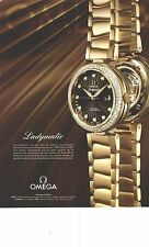 PUBLICITE ADVERTISING 2012  OMEGA la montre LADYMATIC251012