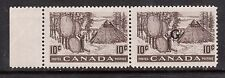 Canada #O26a VF/NH Pair Missing G Variety **With Certificate**