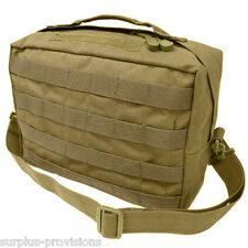 Condor - Tactical Utility Shoulder Bag - Tan - Molle Hunting Pack pouch - #137