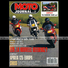 MOTO JOURNAL N°945 BMW K100 RS, KAWASAKI ZZR 1100, BERINGER ORION HONDA CBR 1000