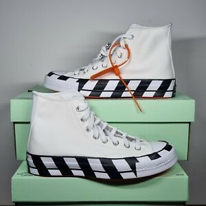 Converse x Off-White Chuck Taylor All-Star 70s High UK9 (WITH RECEIPT)