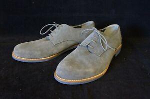 Firetrap Mens Blue Suede Leather Shoes (UK Size 9)
