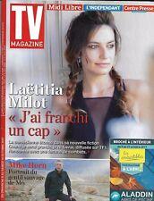 TV MAGAZINE N°22756 08/10/2017  MILOT/ MIKE HORN/ CANTELOUP/ MARIE DRUCKER/ YOKA