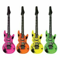 Novelty Inflatable Electric Guitar Party Prop Stag Hen Musical Instrument Fun