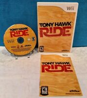 Tony Hawk: Ride (Nintendo Wii, 2009) with Manual - Tested & Working