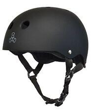 Triple Eight Brainsaver Helmet Black Rubber Medium