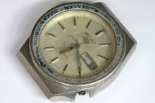 Seiko sports 6309-8360 mens watch for parts/hobby/watchmaker - 141516